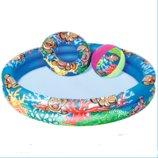 Детский надувной бассейн Bestway 51124, Подводный мир