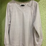 Свитер серый, мягкий, фирмы F&F, евро XL, 54-58