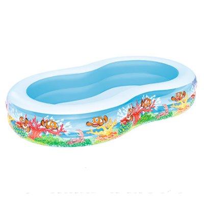 Семейный надувной бассейн Bestway 54118, Подводный мир