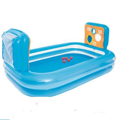 Детский надувной бассейн Bestway 54170, с шариками