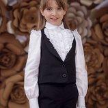 Жилет школьный для девочки Zironka 9540-1