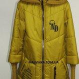 Куртка на девочку Мадлен 42р горцича арт 6800.