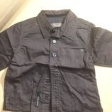 Рубашка Jeanbourget Джинбургет рубашка с длинным рукавом цвет горький шоколад