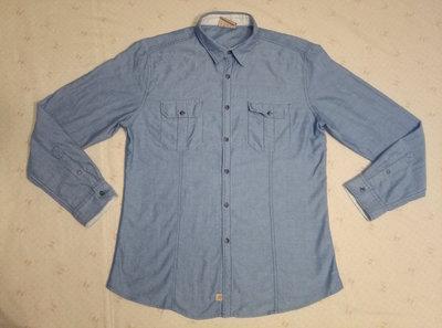 Рубашка джинсовая мужская фирмы Esprit р.XL