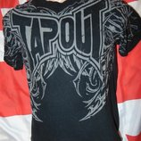 Брендовая стильная футболка Tapout Тапаут .s