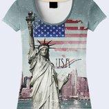 Креативная 3d Статуя свободы