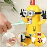 дозатор зубной пасты держатель зубных щеток миньен