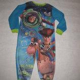 3-4 года, флисовая пижама слип Баз Лейтер, история игрушек