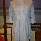 Турецкая рубашка удлиненная из вискозы belle robe размер 8-10