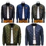 Стеганая мужская демисезонная куртка