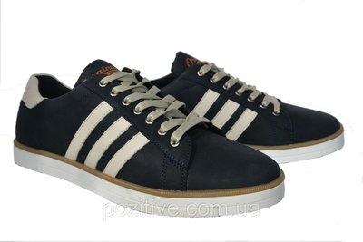 1683fd8138b559 Мужские кожаные спортивные туфли кеды Konors Shoes Blue: 950 грн ...