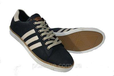 Мужские кожаные спортивные туфли кеды Konors Shoes Blue. Previous Next 6f940ae03b5