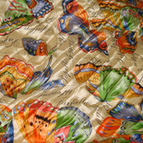 платок шелк принт Крыло бабочки 82Х85 Hermes Chanel