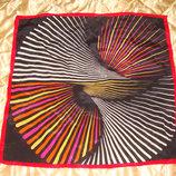 платок шелк принт Крылья Жар-Птицы Hermes Chanel