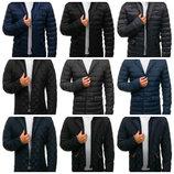 Мужская стеганая куртка пиджак