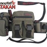 Модульная поясная сумка со съемным подсумком для воды и съемным держателем удилища - Портатif Stakan