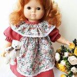 Кукла рыжая кудрявая Германия