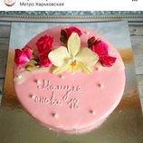 Подарок маме на день рождения торт заказать Киев, зеркальная глазурь торт заказать Киев, торт маме з