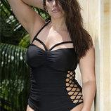 Женские купальники больших размеров с push-up и без 2 модели