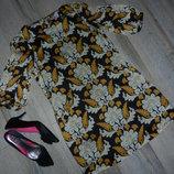 S/38 Be Beau стильное женское платье туника на подкладке
