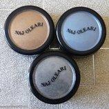 Рассыпчатые блестящие тени Naj Oleari 1 тон бежевые 5 цвет морской волны 8 серые