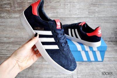 Кроссовки мужские замш Adidas Gazelle Dark blue