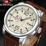 Военные противоударные мужские часы Naviforce Target 9063 Для настоящих мужчин