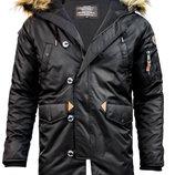 Куртка аляска Top Gun N-3B Parka черная