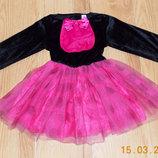 Новогоднее платье для девочки 3-5 лет, 98-110 см