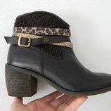 кожаные ботинки кэжуал Cerises 37-38р.