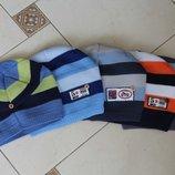 детская шапка демисезонная вязанная на мальчика 50р-54размер
