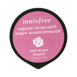 Маска с экстрактом розы и каламином, INNISFREE Capsule Recipe Pack - 10ml , Rose & Calamine