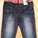 Cherokee джинсы для пирата с поясом 4-5 лет