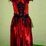 карнавальное платье на 11-12 лет