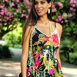 Новинки 2018 Летнее платье, сарафан из хлопка Indiano, AnastaSea 556A