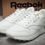 Кроссовки кожаные мужские Reebok Classic, белые