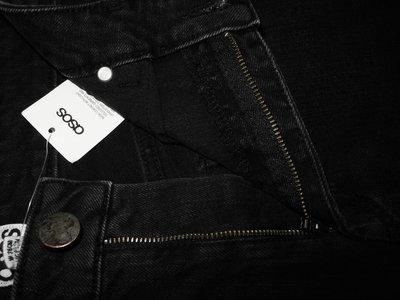 4a2a1bca48cf Мужские джинсы черные стрейч Asos M 30 32  880 грн - джинсы asos в ...