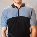 Мужская футболка- поло вязка от немецкого бренда Watsons