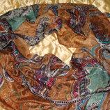 шаль большая Ystrdy шелк Louis Vuitton Burberry Gucci косынка