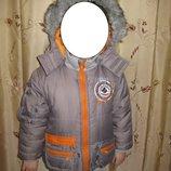 Куртка очень теплая на зиму Explore&Discovery 3 года 98 размер дешево