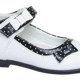 Белые туфли для девочки р. 26-28