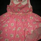 Хорошенькое платье Некст 12-18мес