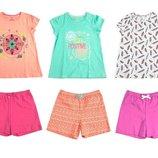 Продам летние костюмы комплекты на девочку немецкой фирмы Lupilu Лупилу