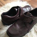 Женские кожаные ботиночки ecco