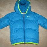Куртка брендова стильна шикарна Nike Оригінал ріст 75-80 на вік 9-12 міс.