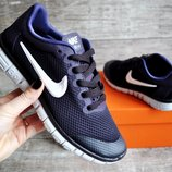 Кроссовки женские Nike Free Run 3.0 dark purple