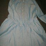 отличное платье H&M 8-9л,