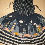 Красивое платье George 7-8л