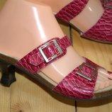 Шлепки NewDress размер 37. Серия обуви Comfort Кожа снаружи и внутри. Длина по внутренней стельке