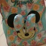 Детский рюкзак для девочки Минни Маус. Большой бант